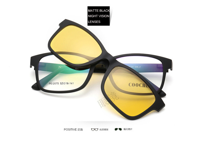 38a96d5fb66 Related Products. TD5510 TR90 Optical frame with magnetic Clip polarized ...